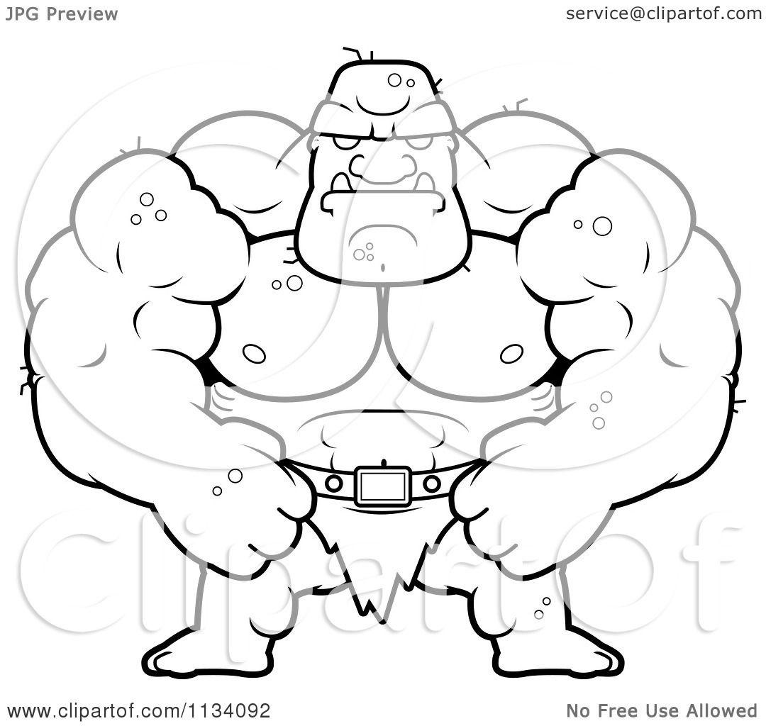Ogre coloring #6, Download drawings