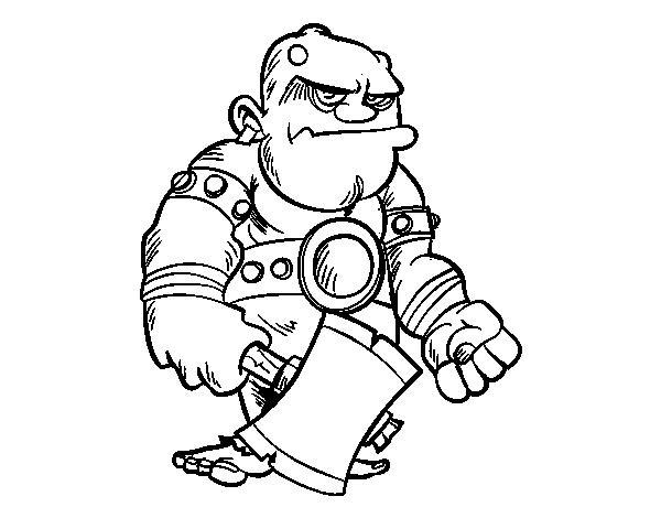Ogre coloring #9, Download drawings