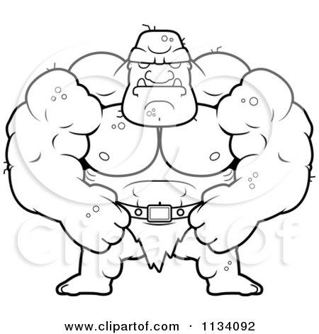 Ogre coloring #15, Download drawings