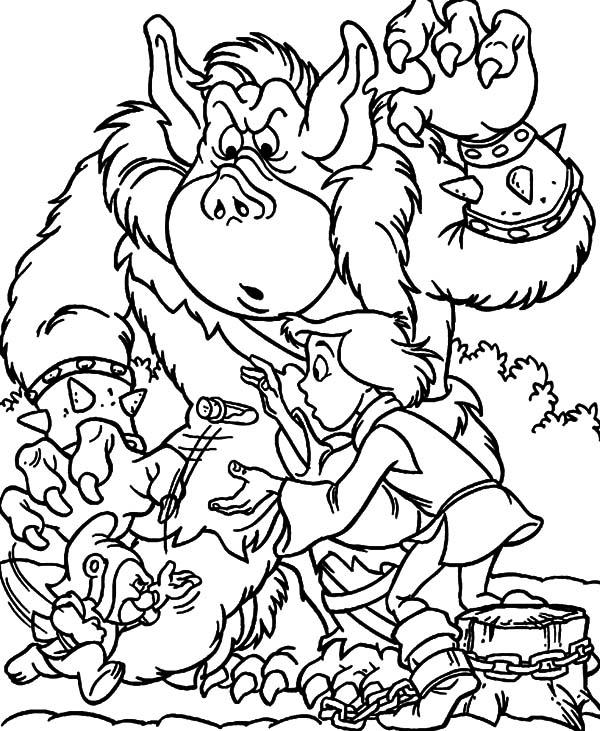 Ogre coloring #18, Download drawings