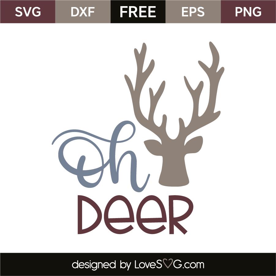 oh deer svg #537, Download drawings
