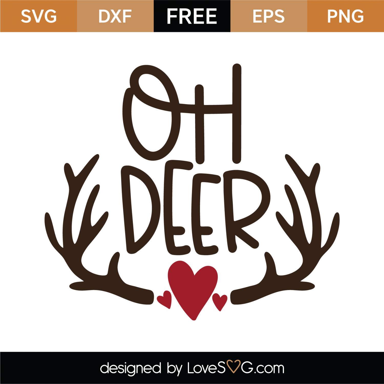 oh deer svg #536, Download drawings