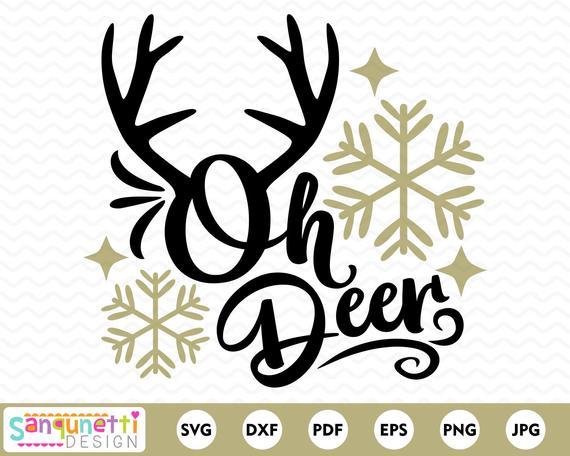 oh deer svg #534, Download drawings