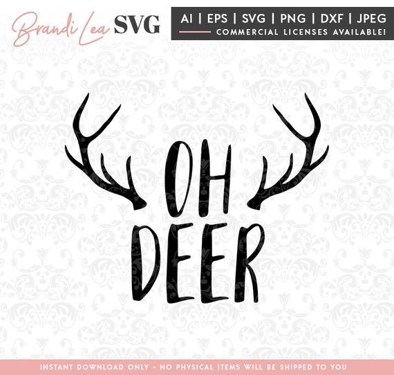 oh deer svg #539, Download drawings