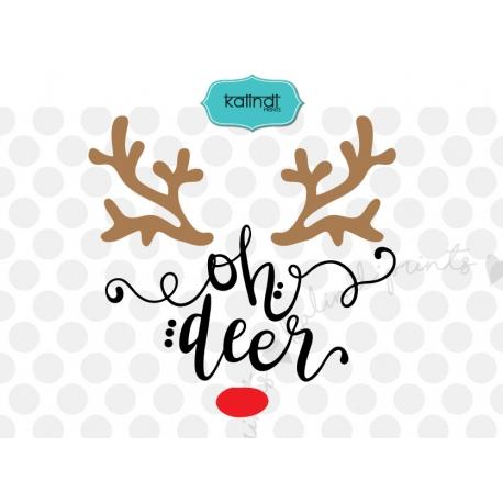 oh deer svg #540, Download drawings