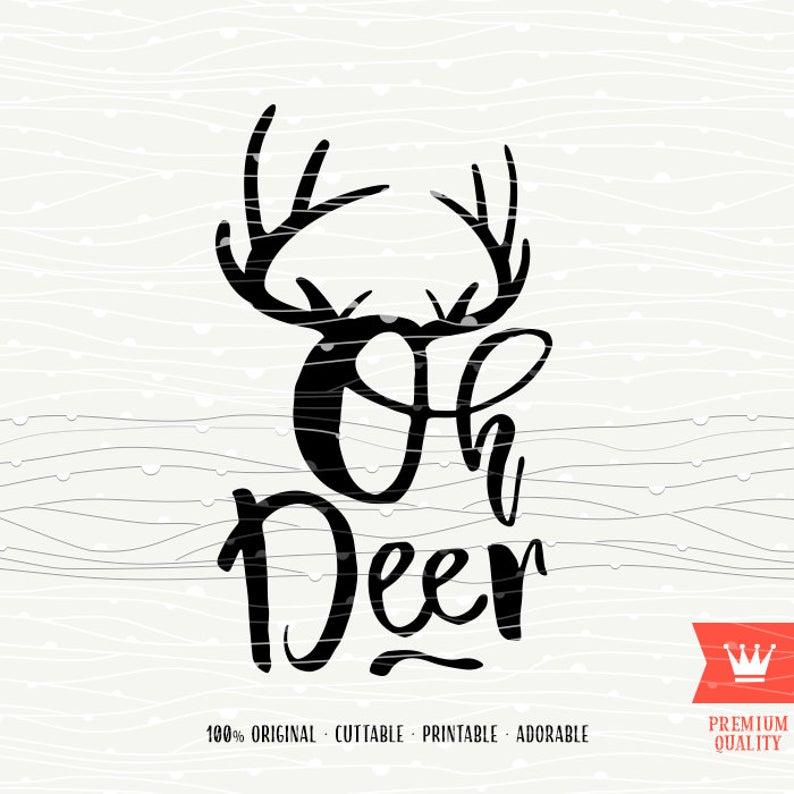 oh deer svg #535, Download drawings