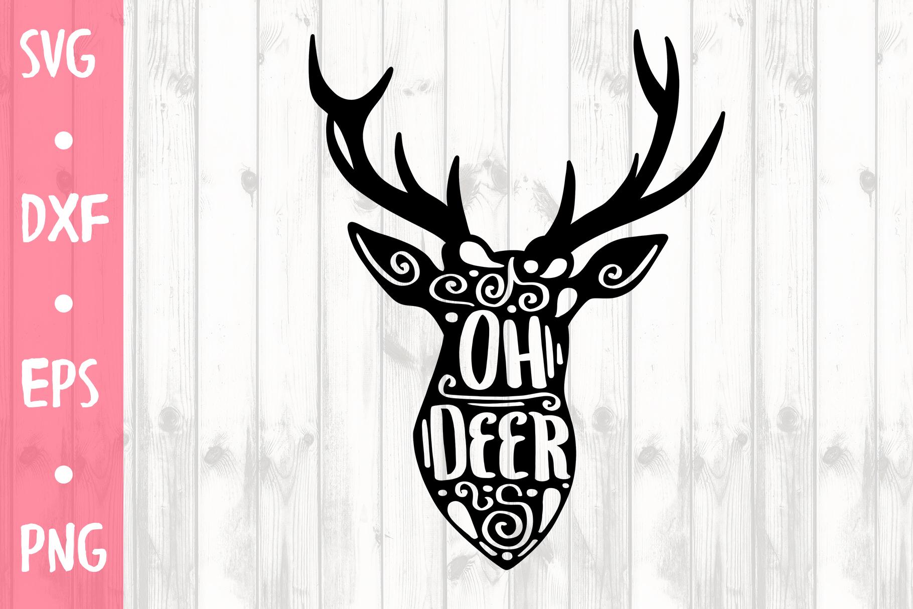 oh deer svg #538, Download drawings