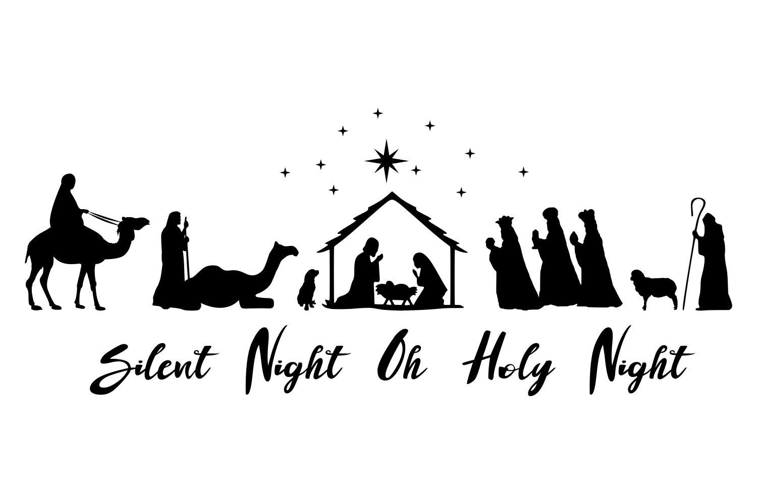 oh holy night svg #1193, Download drawings