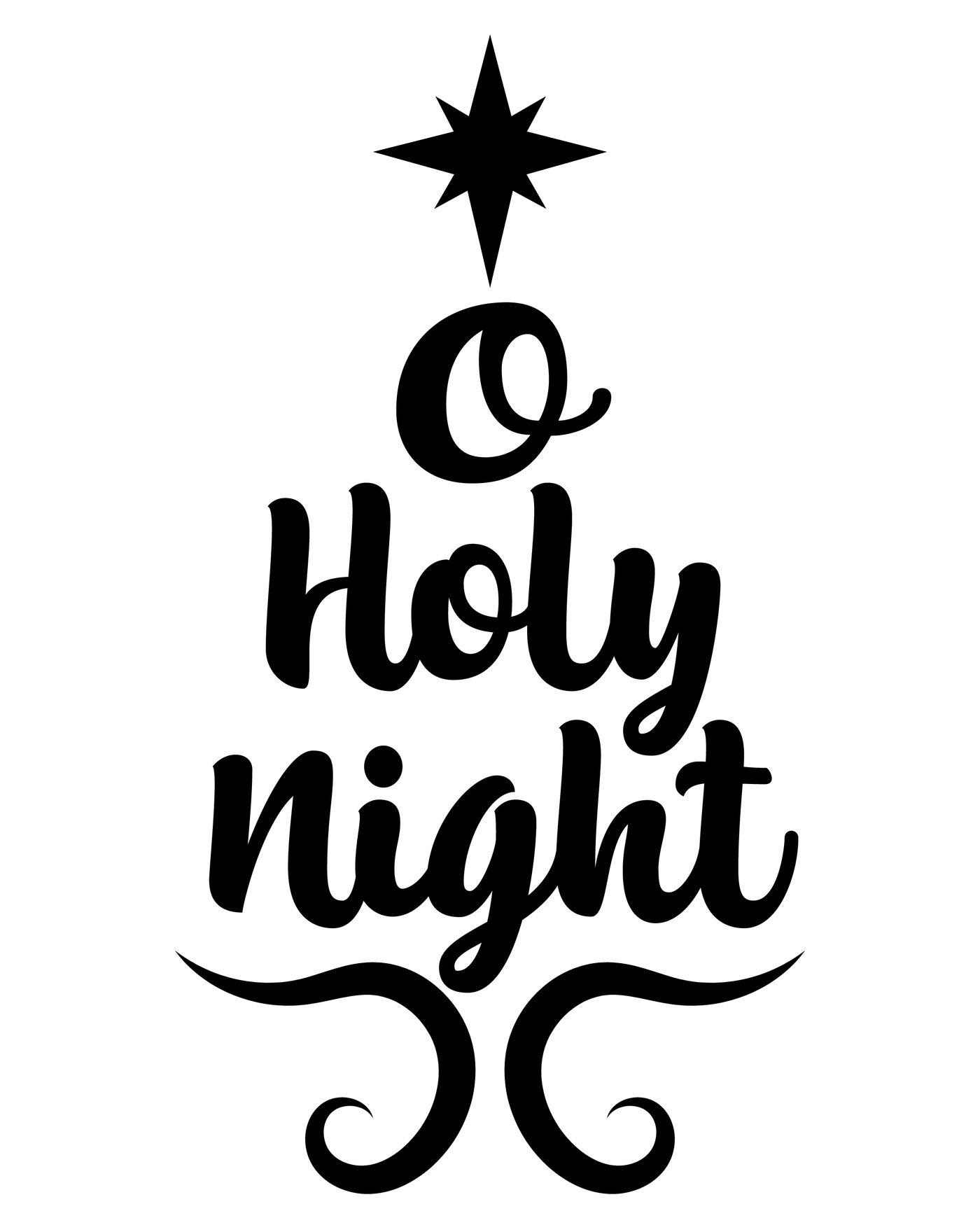 oh holy night svg #1194, Download drawings