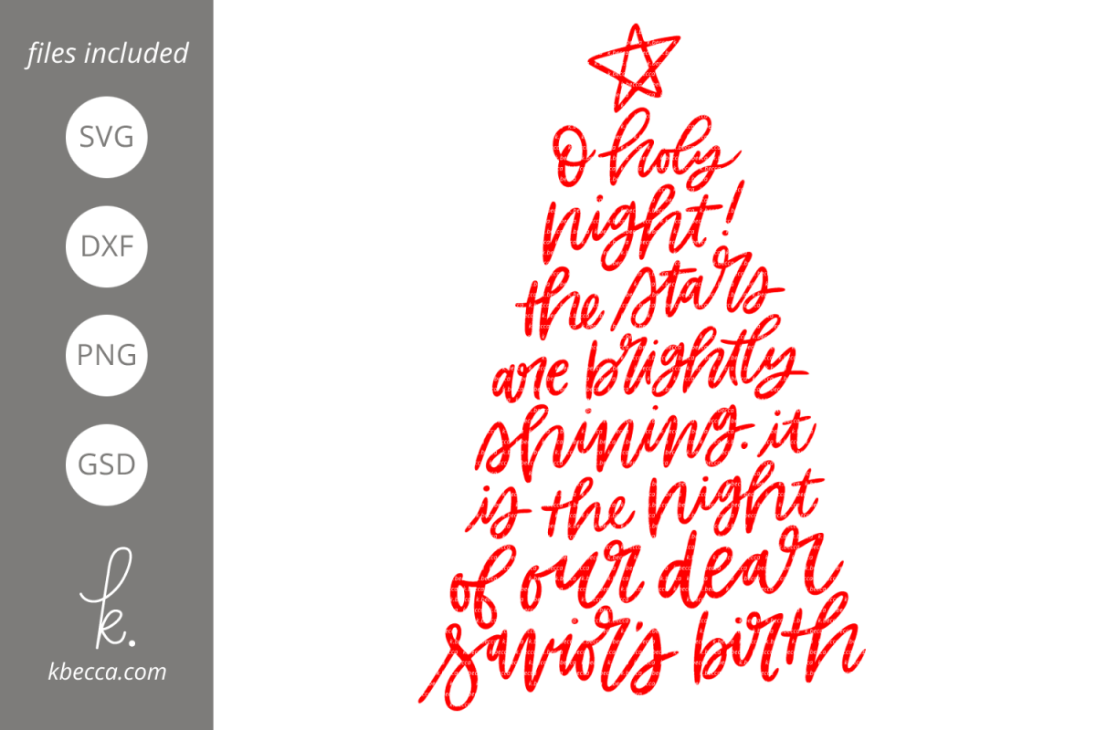 oh holy night svg #1195, Download drawings