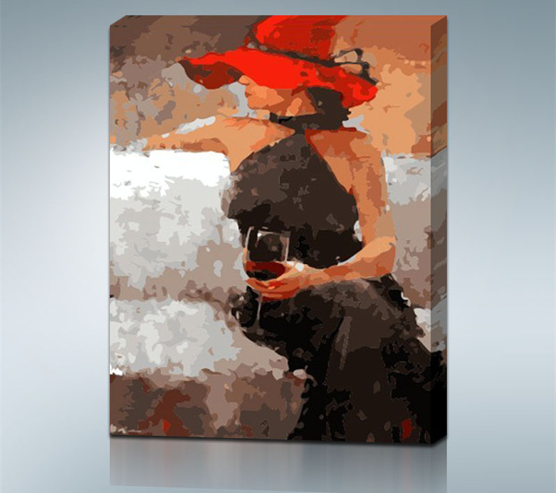 Oil Painting coloring #7, Download drawings