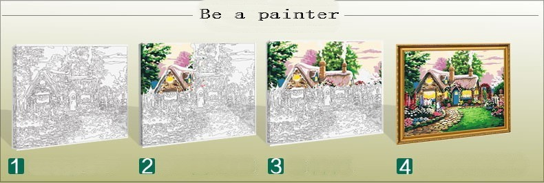 Oil Painting coloring #3, Download drawings