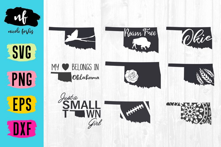 oklahoma svg #915, Download drawings