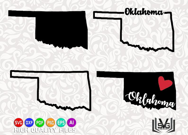 oklahoma svg #922, Download drawings