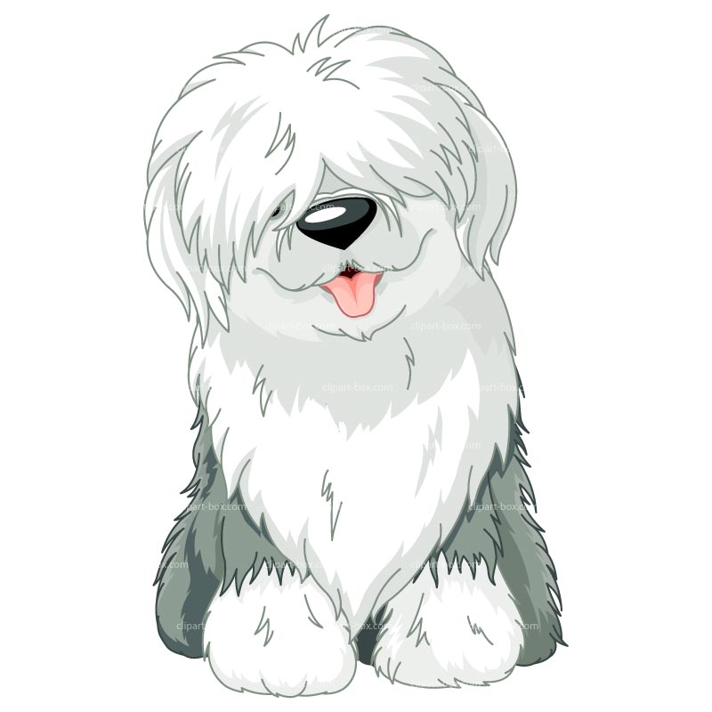 Old English Sheepdog clipart #3, Download drawings