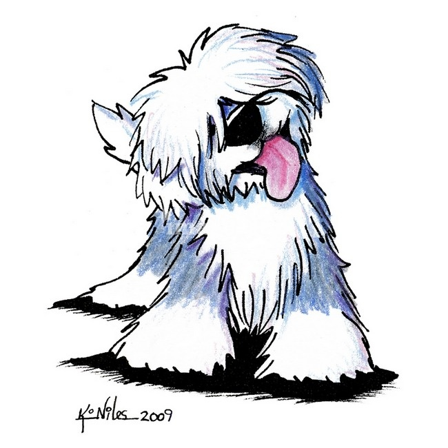 Old English Sheepdog clipart #11, Download drawings
