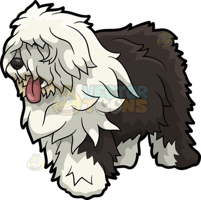 Old English Sheepdog clipart #10, Download drawings