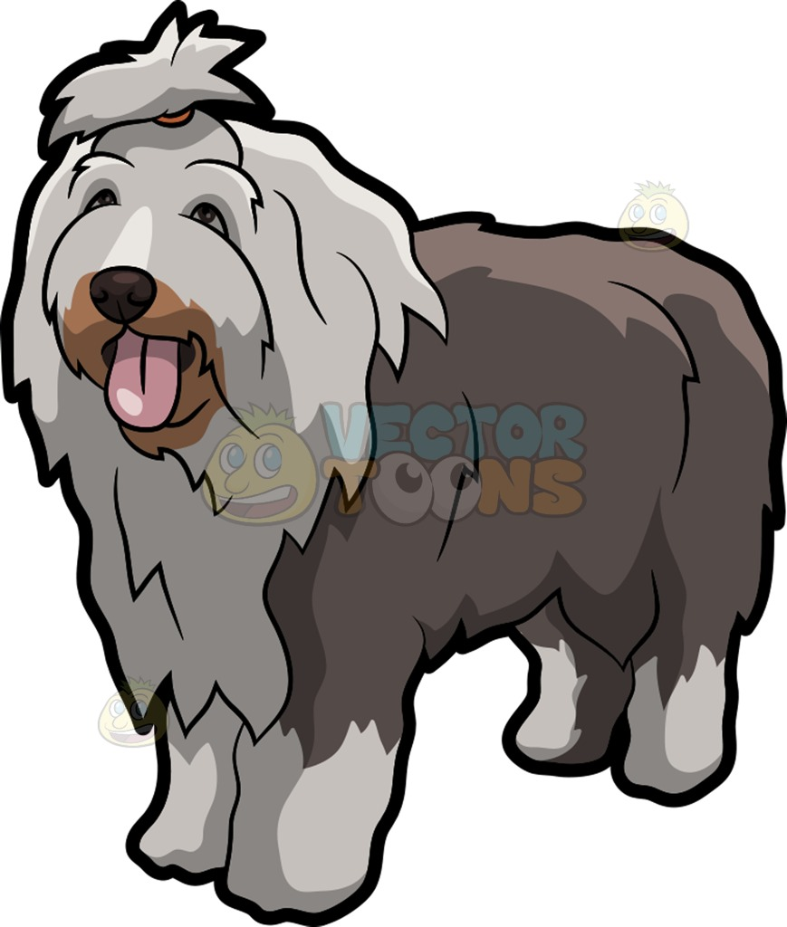 Old English Sheepdog clipart #14, Download drawings