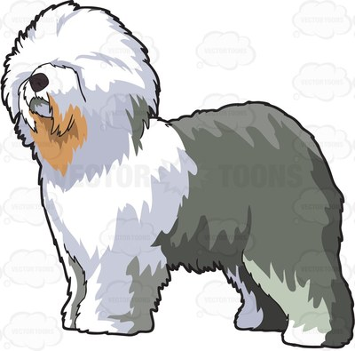 Old English Sheepdog clipart #5, Download drawings