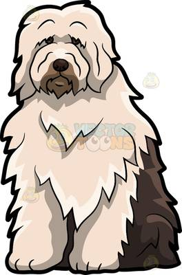 Old English Sheepdog clipart #6, Download drawings