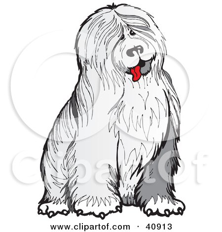 Old English Sheepdog clipart #8, Download drawings