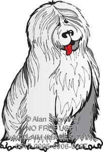 Sheepdog clipart #6, Download drawings