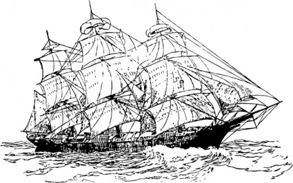 Old Sailing Ships clipart #4, Download drawings