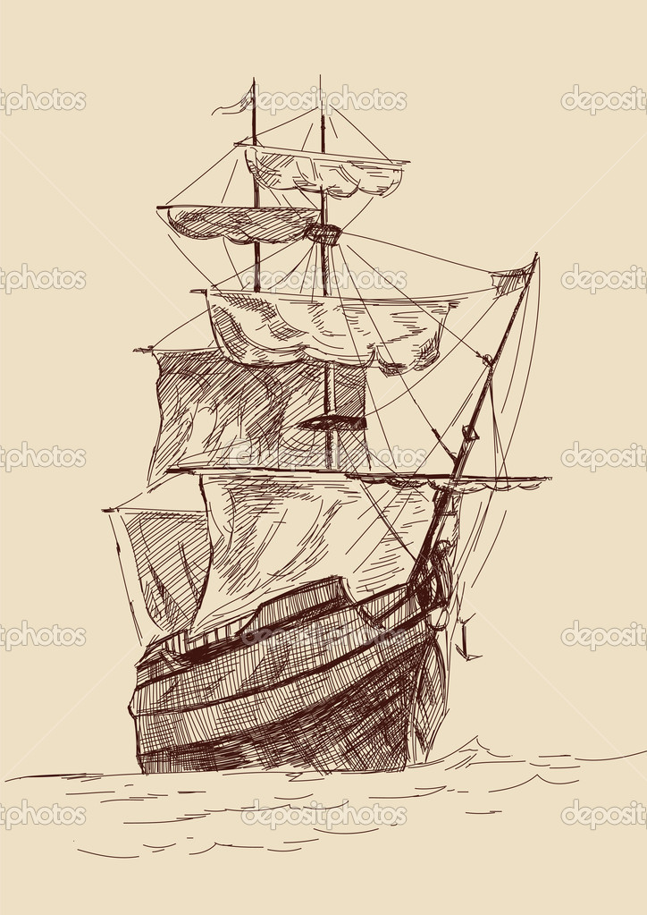 Old Sailing Ships clipart #3, Download drawings