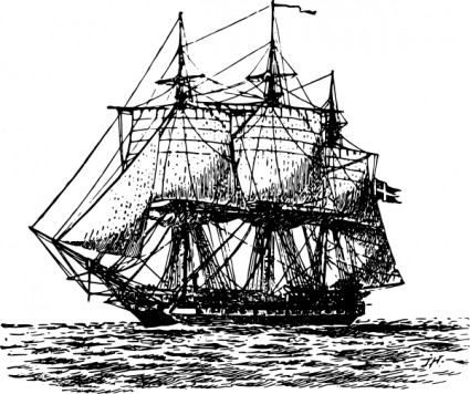 Old Sailing Ships clipart #5, Download drawings