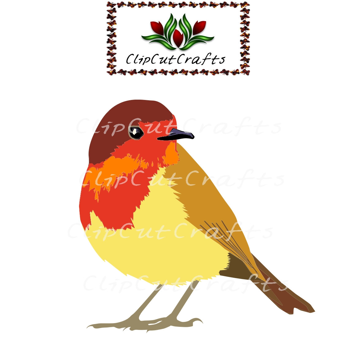 Old World Flycatcher svg #12, Download drawings