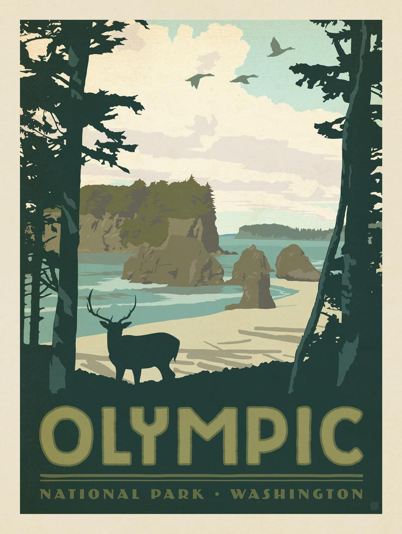 Olympic National Park clipart #10, Download drawings