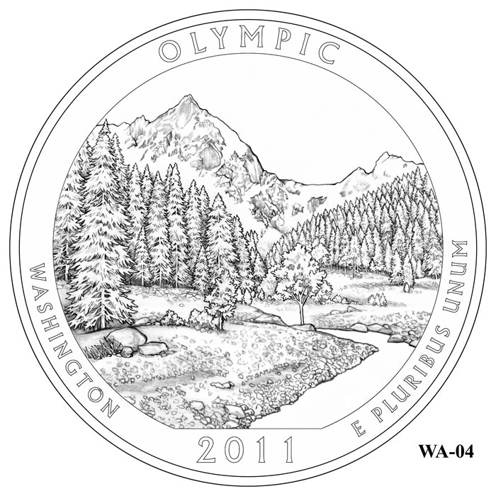 Olympic National Park coloring #8, Download drawings