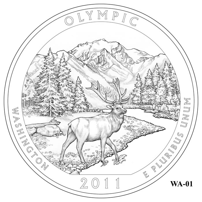 Olympic National Park coloring #10, Download drawings