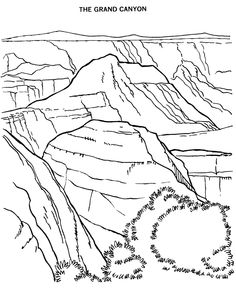 Olympic National Park coloring #13, Download drawings