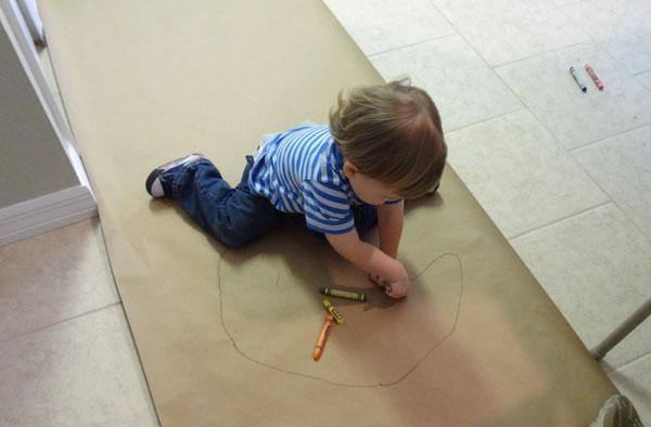 On Floor coloring #2, Download drawings
