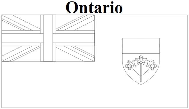Ontario coloring #12, Download drawings