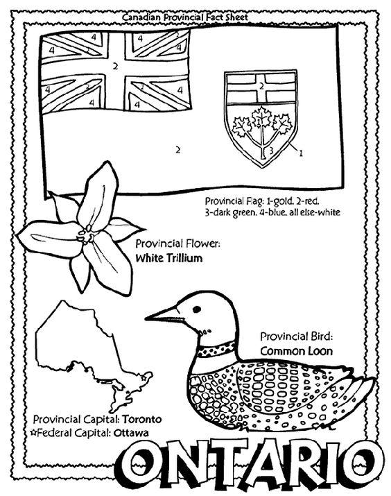 Ontario coloring #8, Download drawings