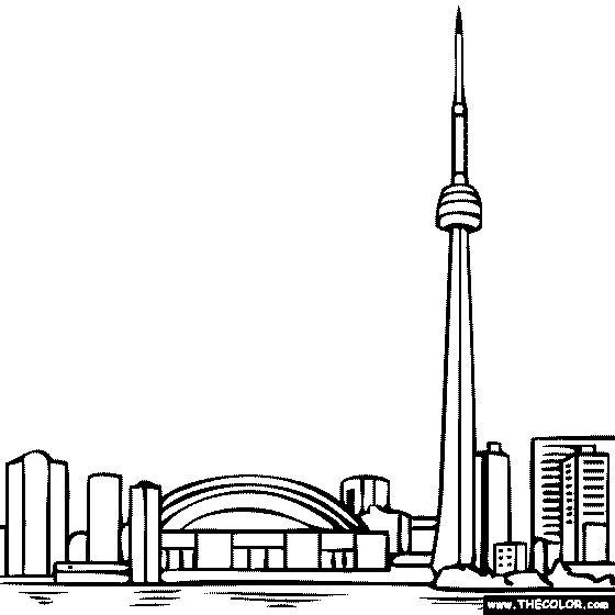 Ontario coloring #1, Download drawings