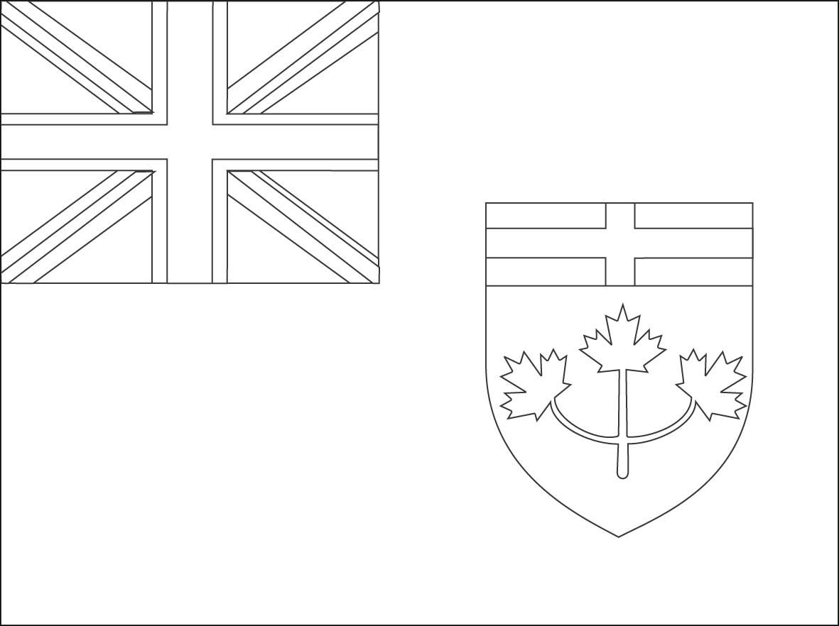Ontario coloring #16, Download drawings