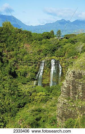 Opaeka'a Falls clipart #20, Download drawings