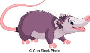 Opossum clipart #13, Download drawings