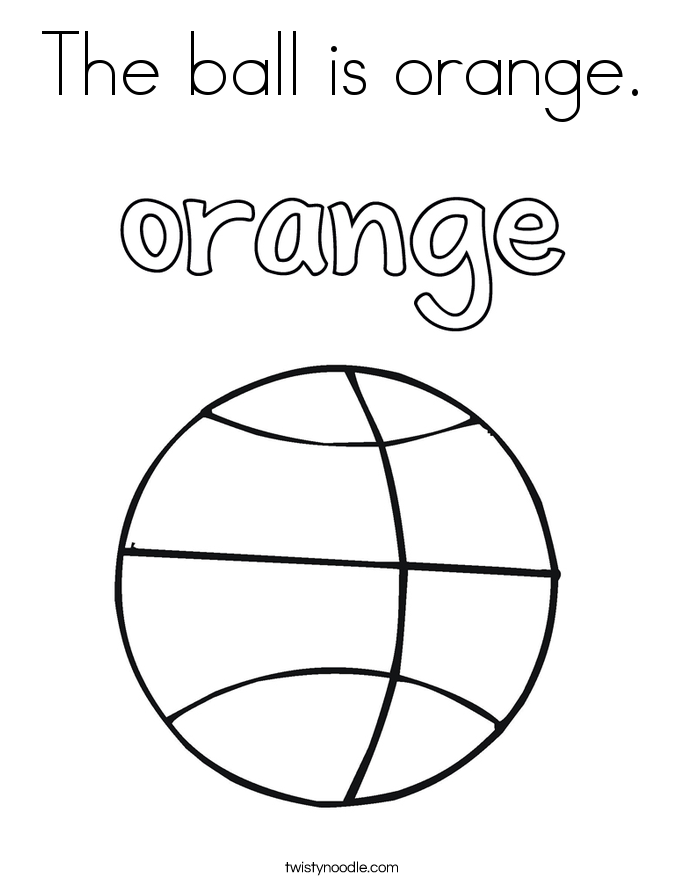 Orange coloring #20, Download drawings