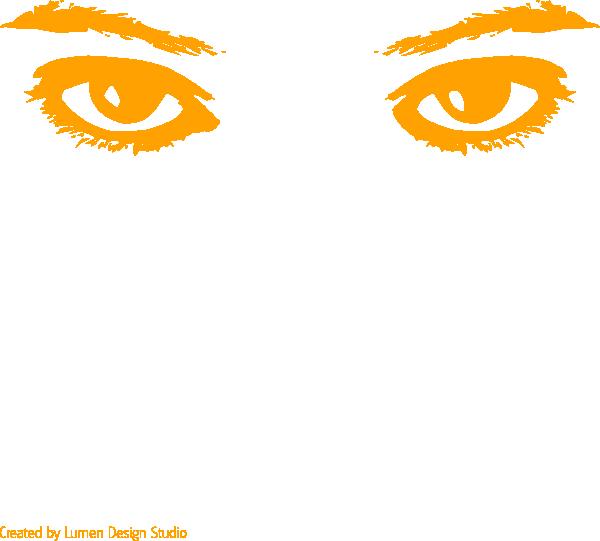 Orange Eyes clipart #19, Download drawings