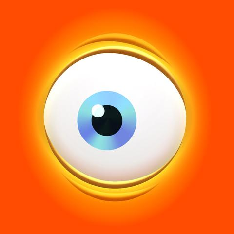 Orange Eyes clipart #11, Download drawings