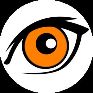 Orange Eyes clipart #18, Download drawings
