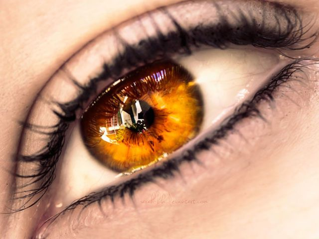 Orange Eyes Coloring Download Orange Eyes Coloring For