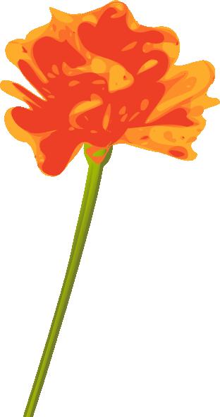 Orange Flower clipart #14, Download drawings