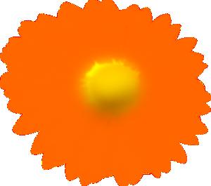 Orange Flower clipart #11, Download drawings