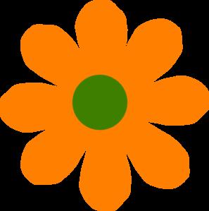 Orange Flower clipart #19, Download drawings