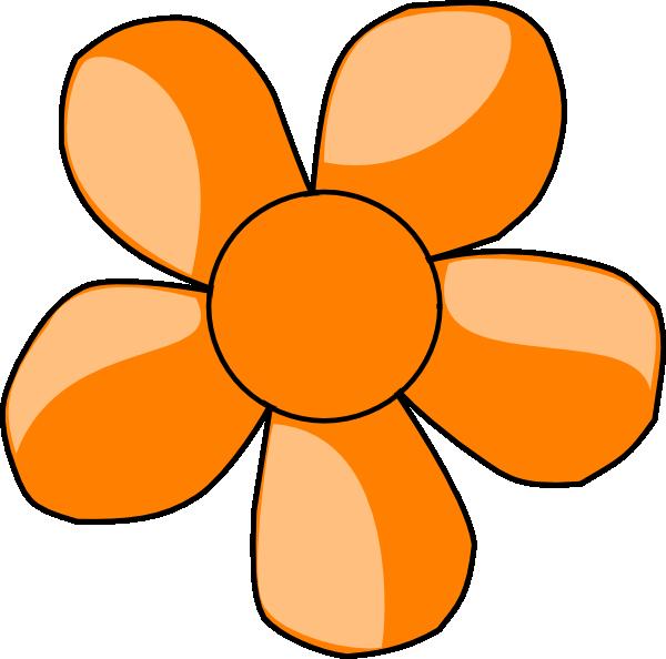 Orange Flower clipart #17, Download drawings